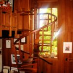 Sam Maloof House Spiral Staircase- Alta Loma